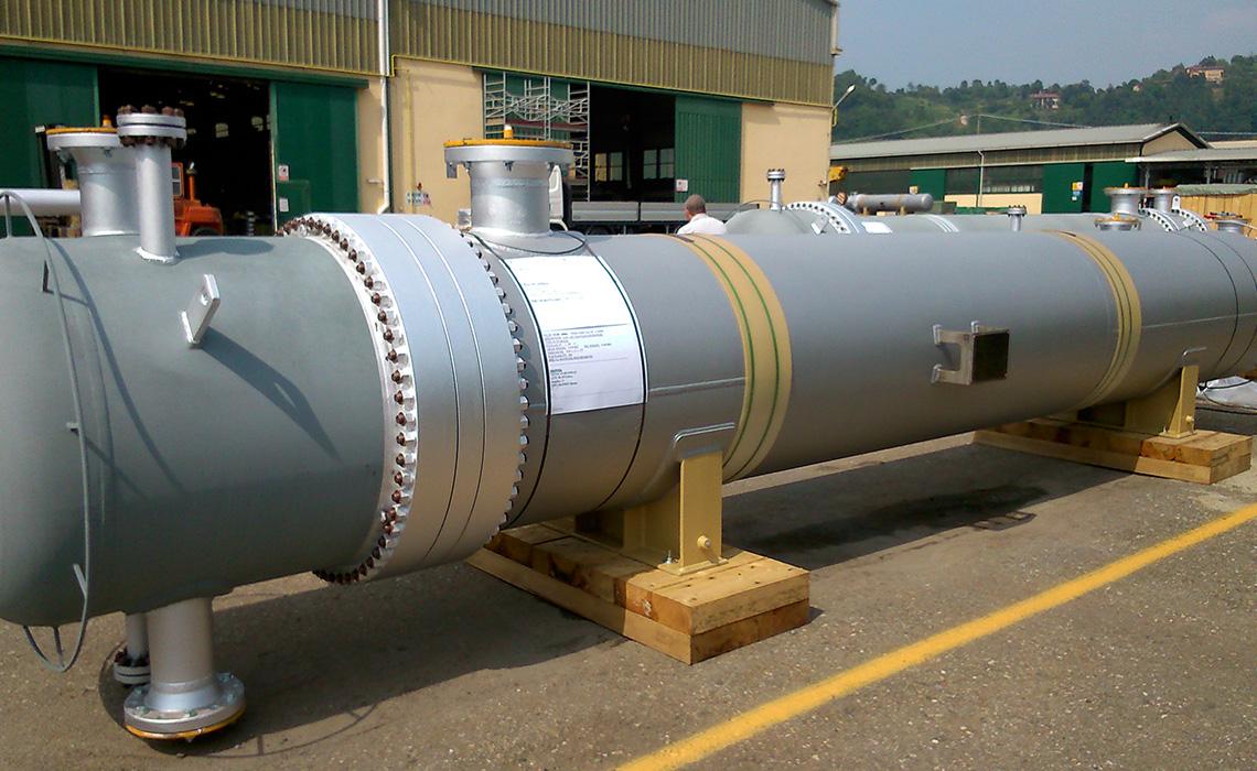 S&T heat exchangers SS and CS