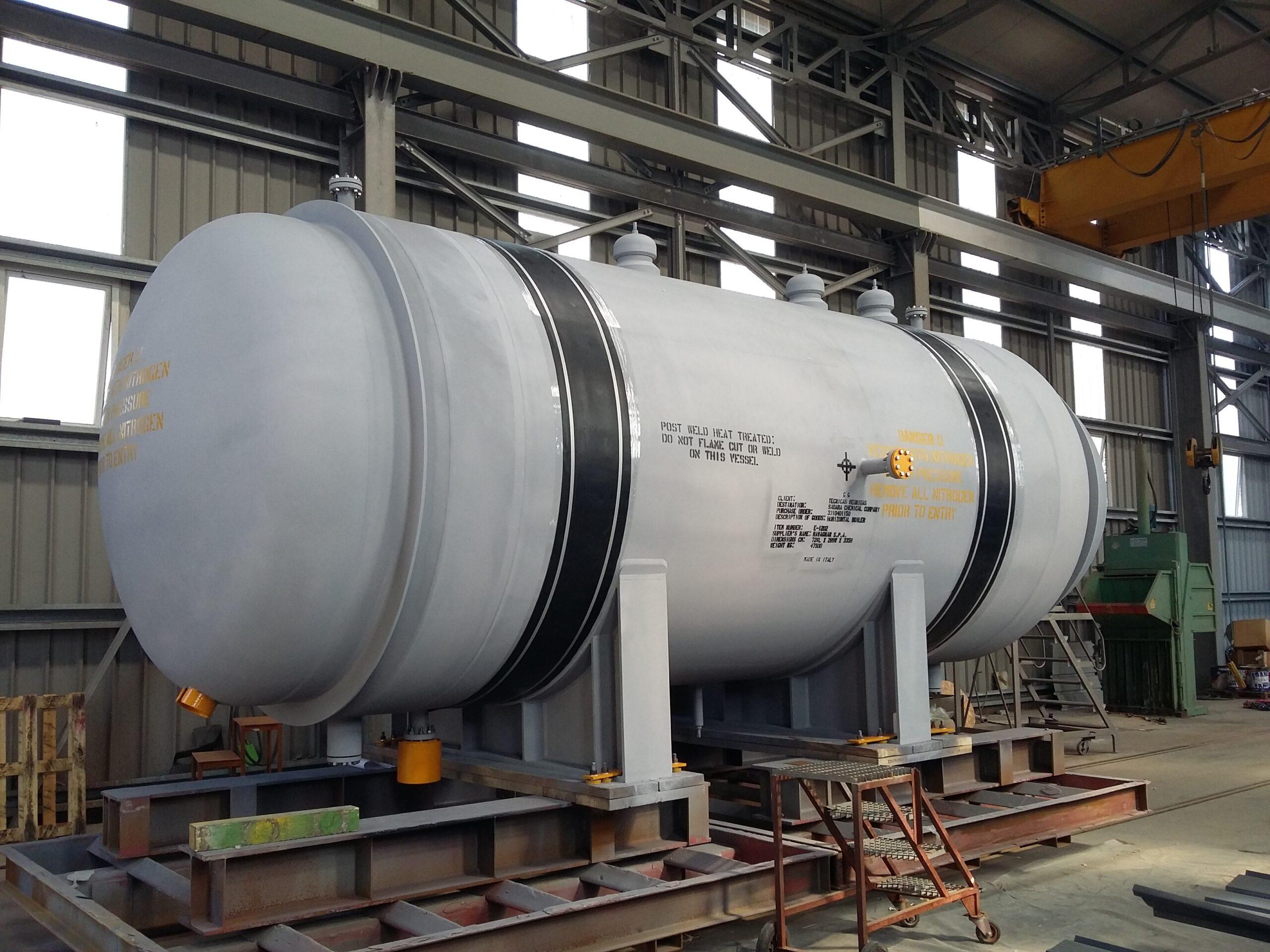 horizontal boiler