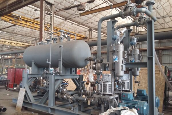HOT OIL SKID, HOT OIL HEATER (Radiant, Convection and Crossovers)